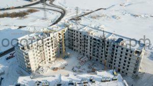 Строительство многоэтажных жилых домов - ЖК «Апрель» Тюмень