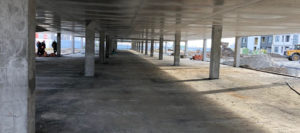 Возведение монолитного паркинга на ЖК «Среда»