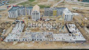 строительство многоэтажных жилых домов в Тюмени