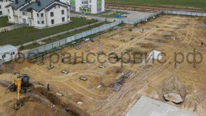 Строительство многоэтажных жилых домов в ЖК «Среда» в Тюмени