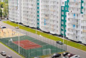 Тюмень. Строительство многоэтажных жилых домов