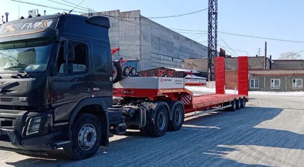 Новый тягач Volvo