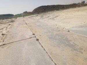 Дорога на объекте ЖК «Скандиа в Комарово», в г. Тюмени