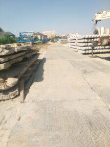 Дорога на объекте ЖК «Скандиа в Комарово» Тюмень